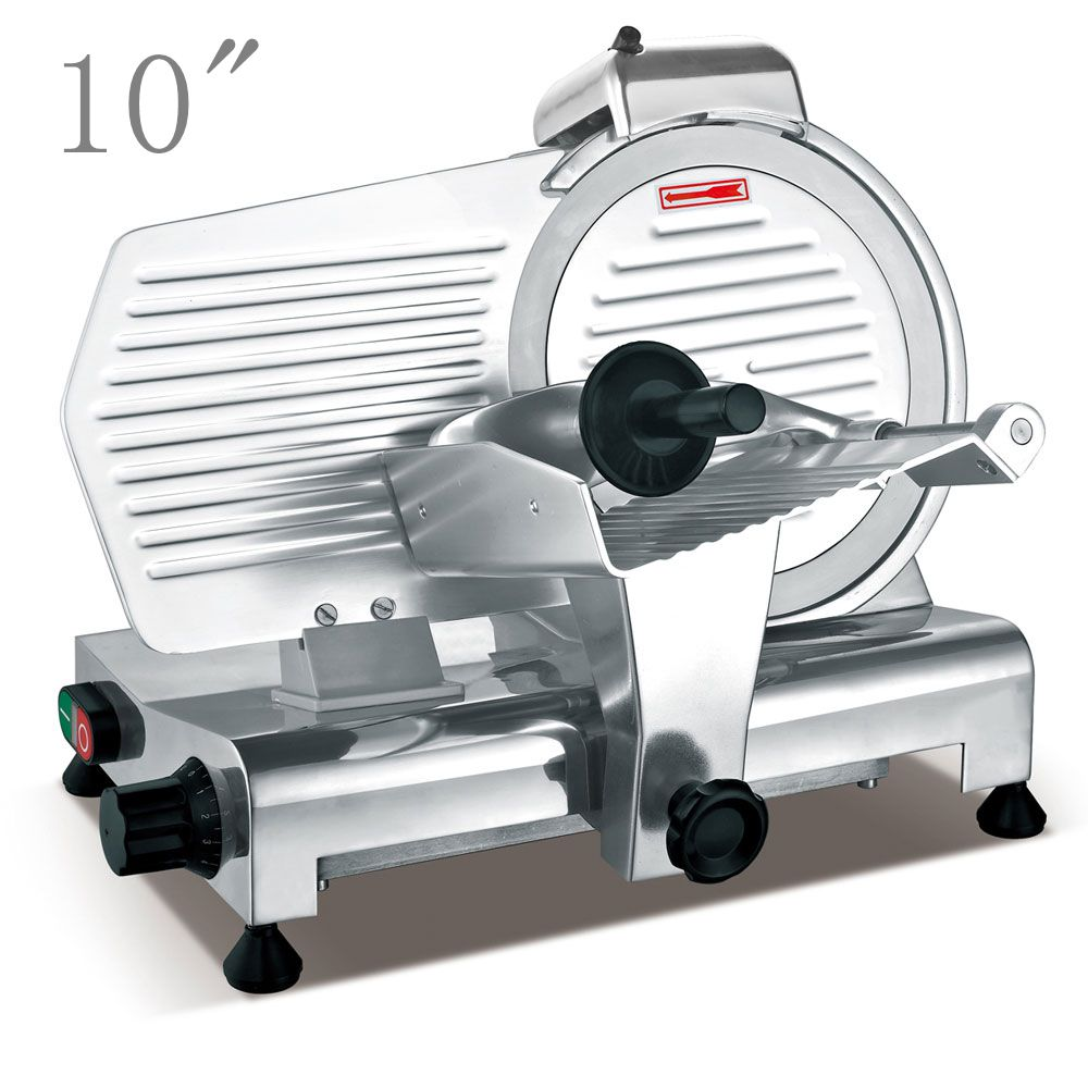 "Zimtown 10""/12"" Blade Commercial Meat Slicer Deli Meat Ch..."