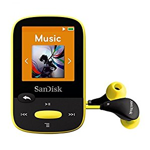 CLIP SPORT MP3 8GB YELLOW