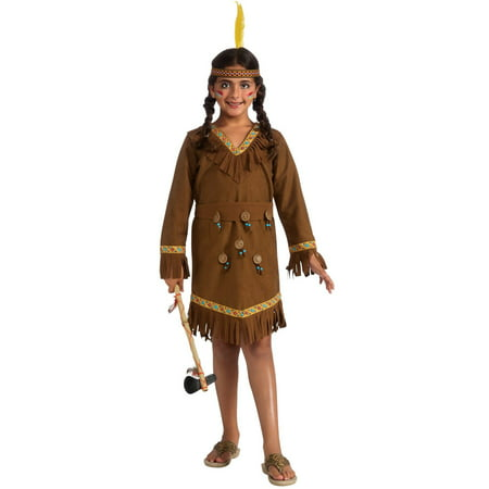 Girls Native American Girl Costume](Captin America Costume)