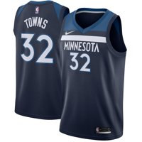 9b86ad37c39 Product Image Karl-Anthony Towns Minnesota Timberwolves Nike Swingman  Jersey Navy - Icon Edition