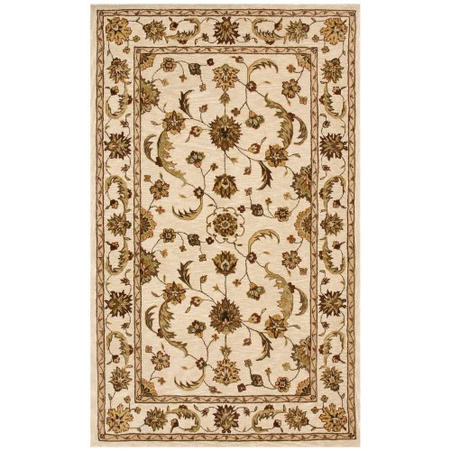 Dynamic Rugs Jewel 70113 Persian Rug - Beige/Beige
