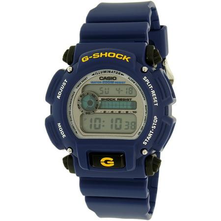 Blue Watch (Men's G-Shock DW9052-2 Blue Resin Quartz)