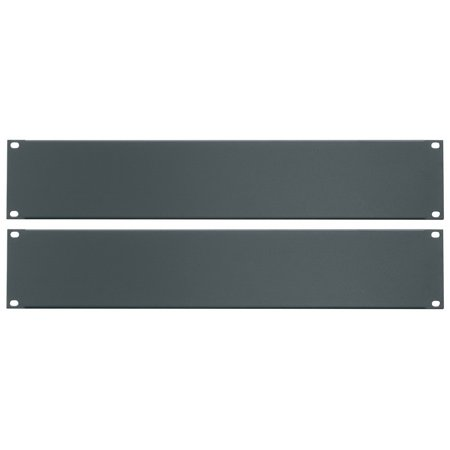 Essex by Middle Atlantic FBPANEL-2U-2PK Flanged Blank Rack Panel 2U -