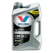 Valvoline Advanced Full Synthetic SAE 0W-20 Motor Oil, Easy-Pour 5 Quart