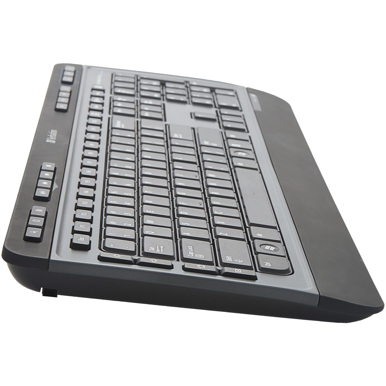 Verbatim 99788 Wireless Multimedia Keyboard and 6-Button Mouse Combo (Black)