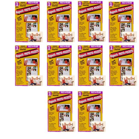 Clear Magnetic Picture Frames For Refrigerator 25 X 35 Wallet