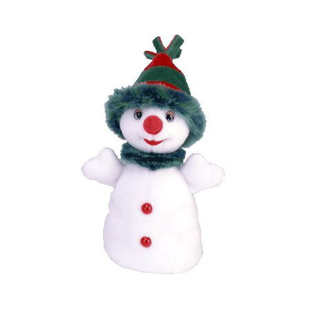 Ty - Snowgirl (Size 8 inches), Authentic TY beanie baby By Beanie Babies Ship from US