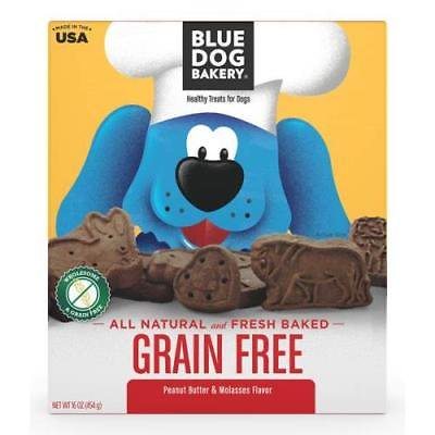 Blue Dog Bakery Natural and Fresh Baked Grain Free Biscuits