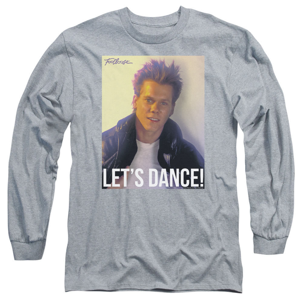 Footloose Lets Dance Mens Long Sleeve Shirt