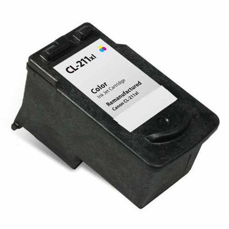 Universal Inkjet Premium Remanufactured Canon CL-211XL Cartridge, - 10 Remanufactured Inkjet Cartridges