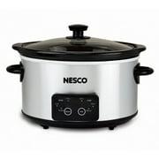 Nesco 4 Qt Analog Stainless Steel Slow Cooker