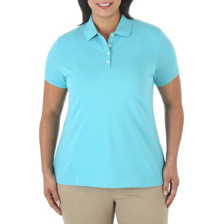 Riders by Lee Women's Plus-Size Short Sleeve Polo