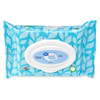 Great Value Hypoallergenic Fresh Scent Pop-up Dispense Flushable Wipes, 42 Sheets