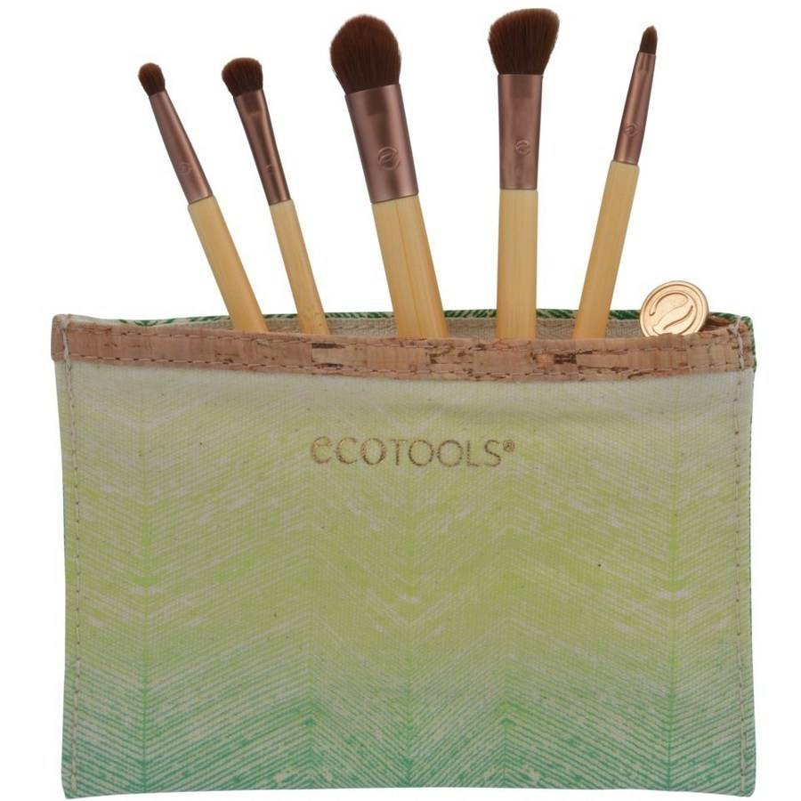 EcoTools 6 Piece Bamboo Eye Brush Set, 1227