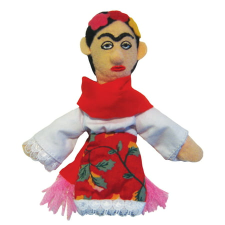 Frida Kahlo Finger Puppet and Refrigerator Magnet