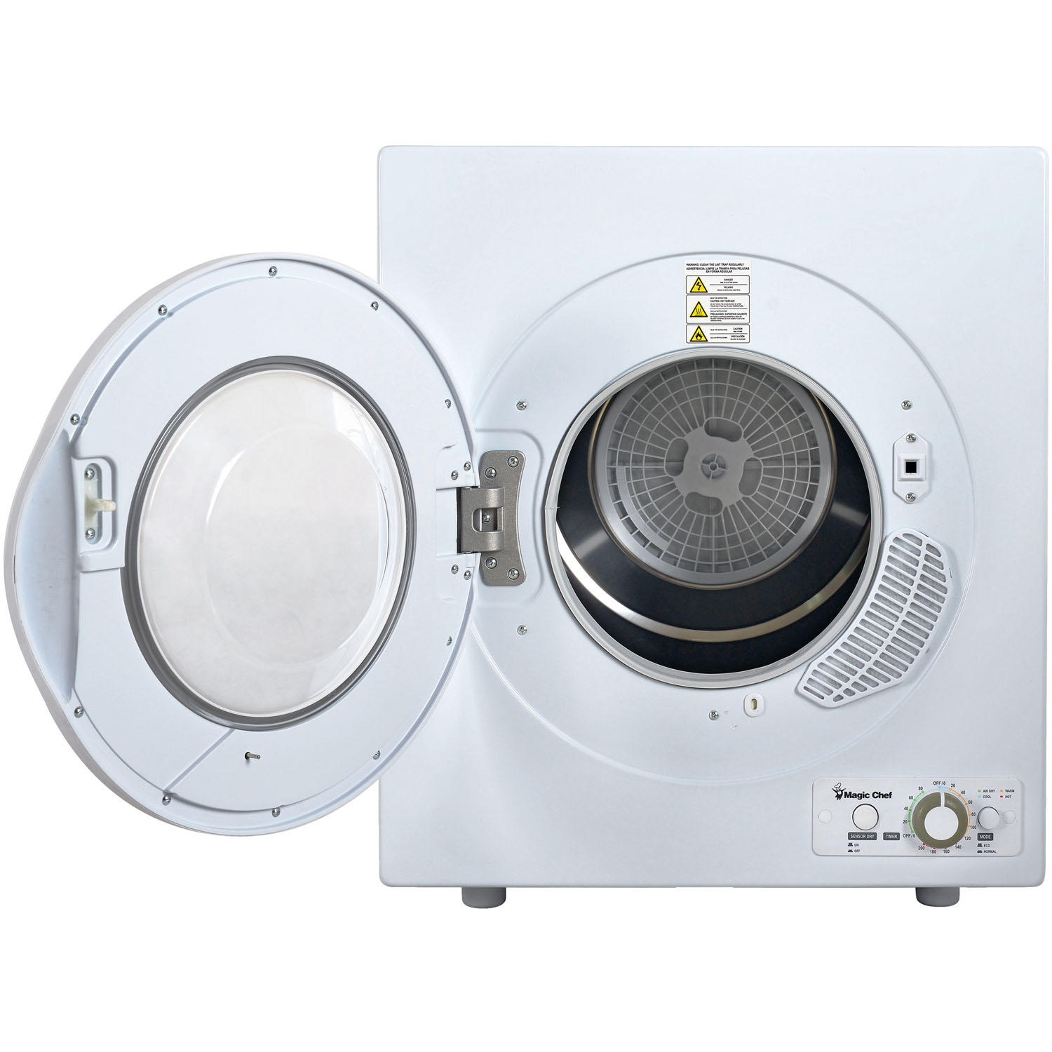 Magic Chef 26 Cu Ft Compact Electric Dryer In White Wiring Connection