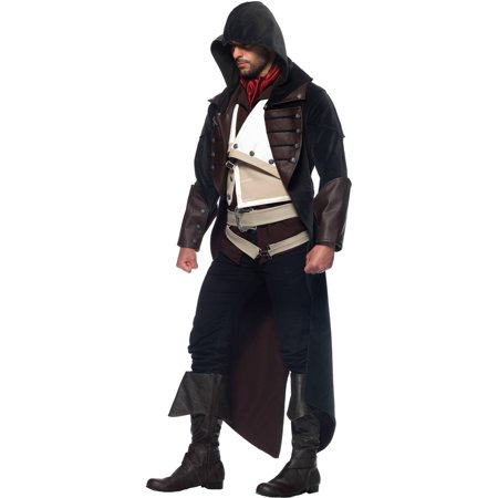 Assassins Creed Arno 7-Piece Men's Adult Halloween Costume - Assassins Creed Costume