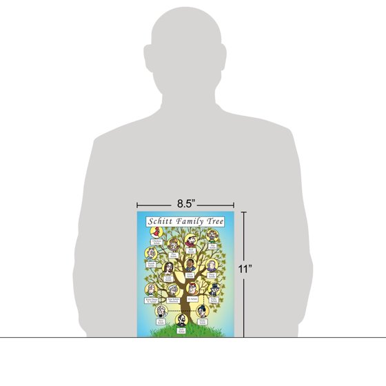 j4250bdg jumbo birthday card schitt family tree extra large