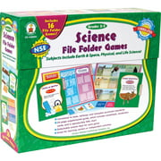 Carson-Dellosa, CDP140045, Science File Folder Games, 1 Each, Multi