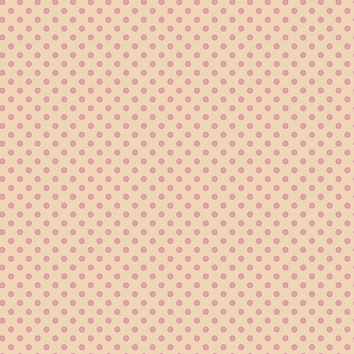 "David Textiles ""Circle Dots"" Fashion Fabric by the Yard, 44""W"
