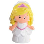 Replacement Figure for Fisher-Price Little People Wedding Playset Bride P0131 - Includes 1 Blonde Bride Figure