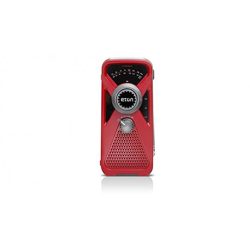 Eton FRX2 AM FM Weather Radio, American Red Cross Red by Eton