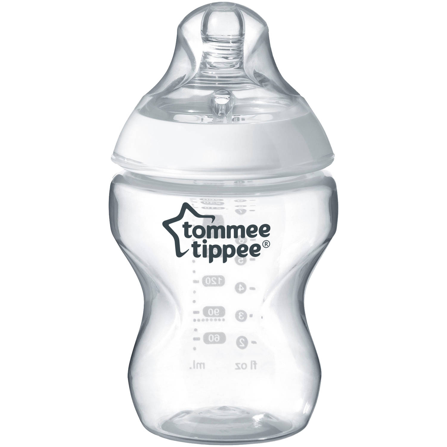 Tommee Tippee Closer to Nature Baby Bottle, 9 Ounce, 1 Count