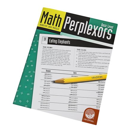 Math Perplexors: Basic Level, Fun and educational toys for children all ages By MindWare
