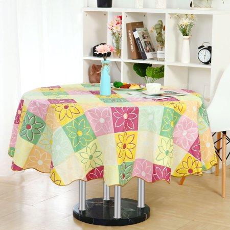 Vinyl Tablecloth Round 60