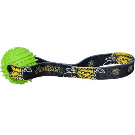 Wichita State Shockers Rubber Ball Toss Toy