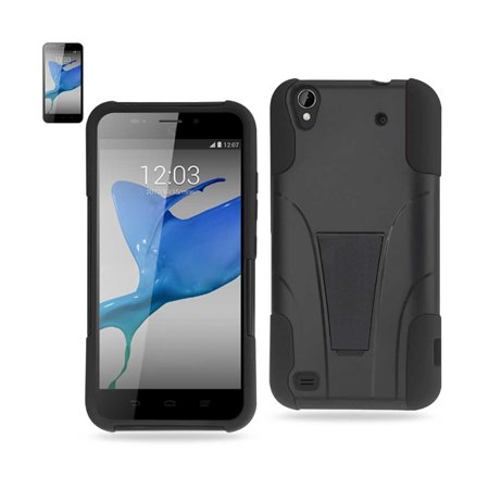 Silicon Case+Protector Cover ZTE Quartz Z797C BLACK - image 1 de 1