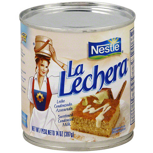 La Lachera Sweetened Condensed Milk, 14 oz (Pack of 24)