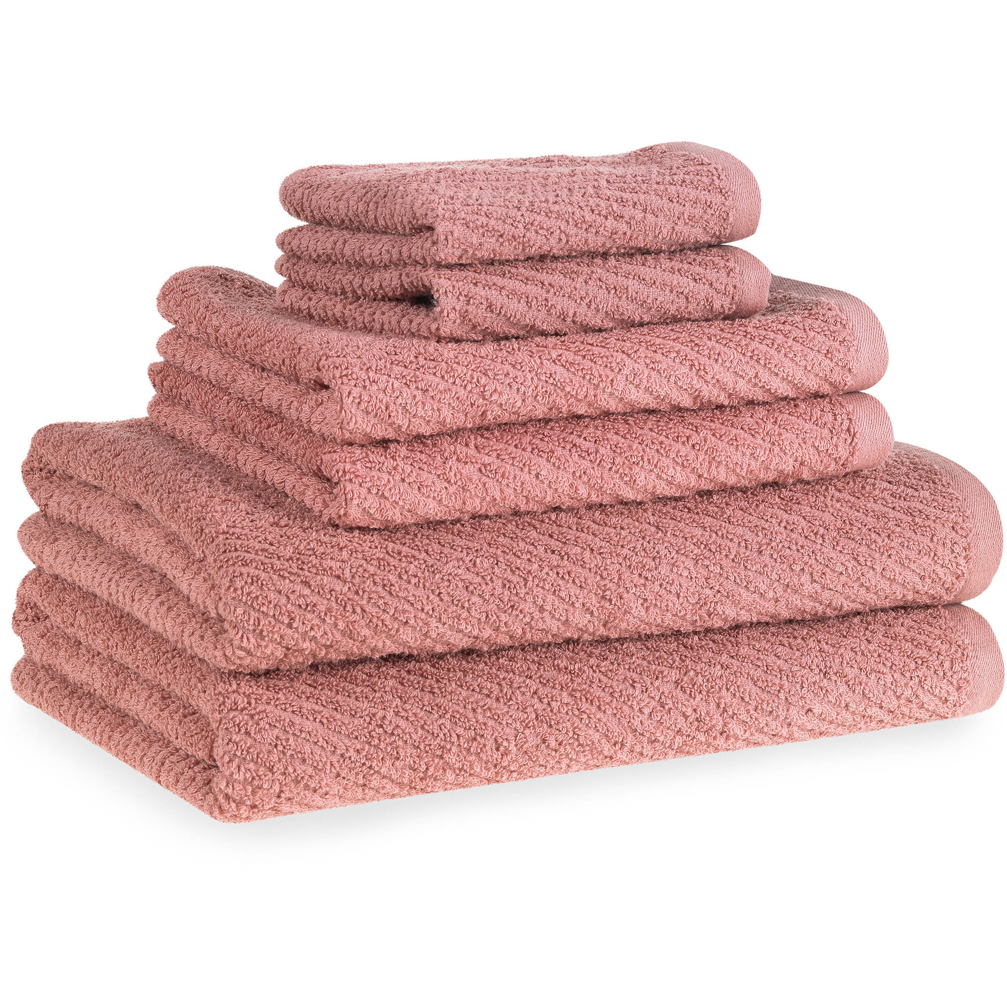 Flash-Dry Cotton Quick-Dry 6-Piece Towel Set