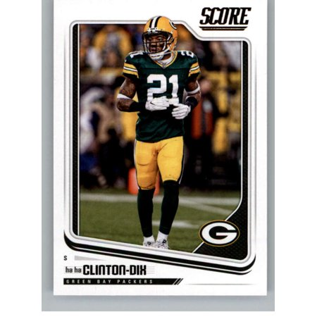 huge selection of 0b4e6 60cd1 2018 Score #122 Ha Ha Clinton-Dix Green Bay Packers Football Card