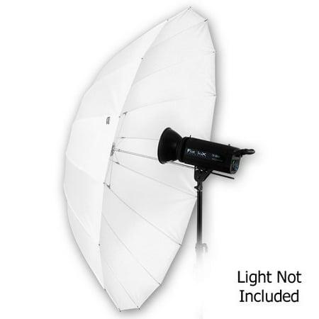 Fotodiox Pro 16-rib, 60in Shoot-Through Neutral White Diffusion Parabolic Umbrella (Fotodiox Umbrella)