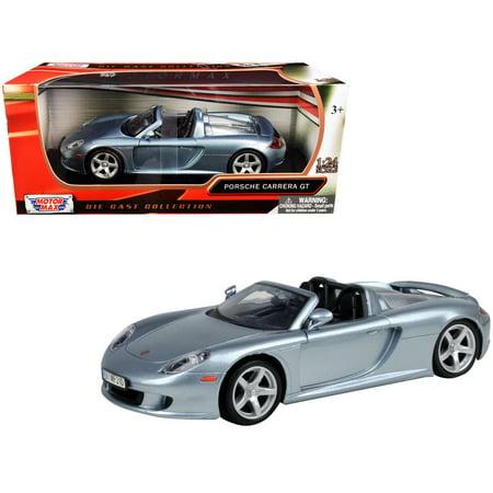 Porsche Carrera GT Gray 1/24 Diecast Model Car by Motormax