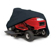 Classic Accessories Black Riding Lawn Mower Tractor Storage Cover, fits lawn tractors with a deck up to 54""