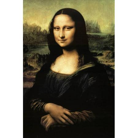 Mona Lisa Poster By Leonardo da Vinci - - Mona Lisa Framed
