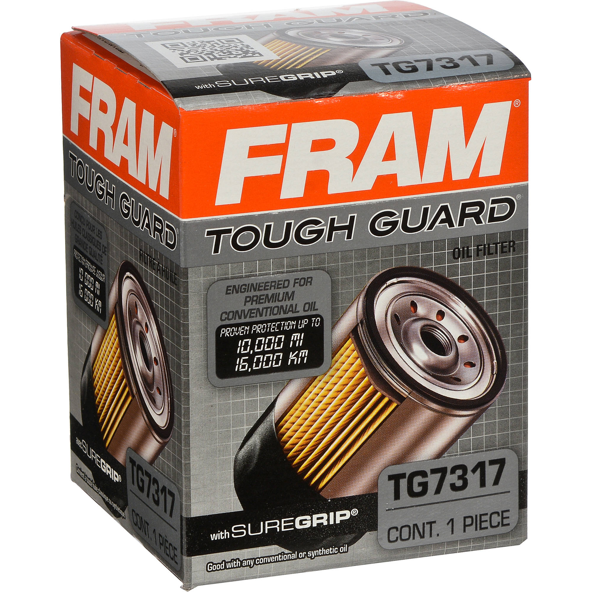 FRAM Tough Guard Oil Filter, TG7317