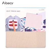 Aibecy 12 * 12 Inch Heat Pressing Mat Ironing Pad for T-shirts High Temperature Resistant Heat Transfer Sublimation Compatible with Cricut Easypress 2/Easypress Heat Press Machine