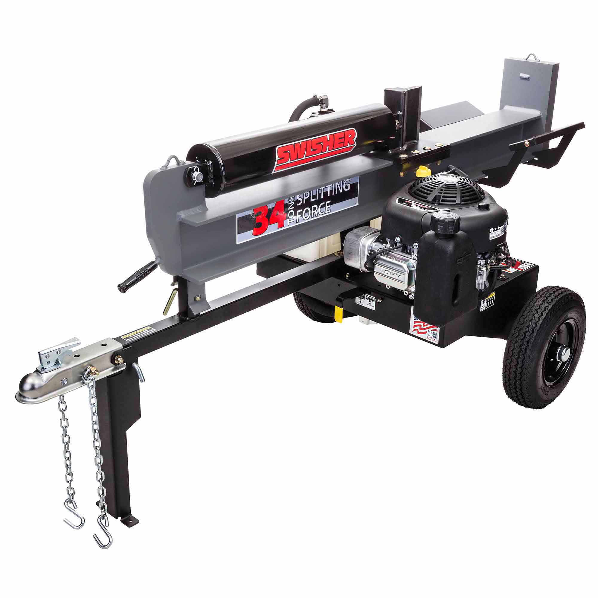 11.5 HP 34 Ton Log Splitter by Swisher Acquisition, Inc