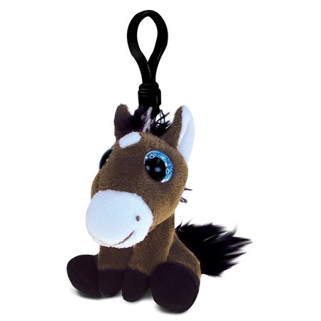Big Eye Keychain Horse