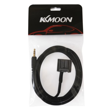KKmoon 3.5 mm Input Aux Cable Line Audio Adapter for Honda CRV 2008-2013 Honda Civic 2006-2013 Accord 2008 after 8