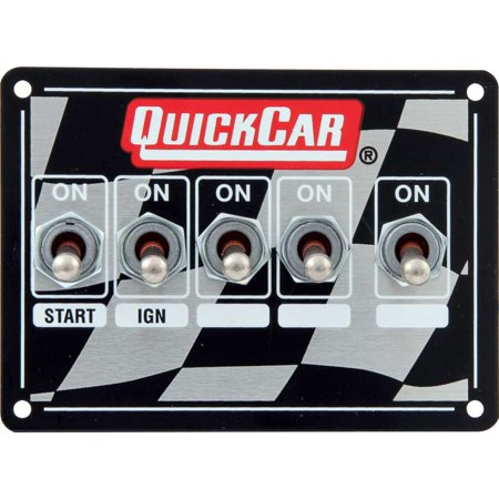 QUICKCAR RACING PRODUCTS Ignition Control Panel - Single Box Dual Trigger 50-1714