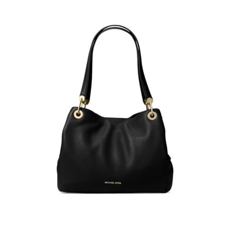 Pebble Leather Tote (Raven Pebbled Leather Tote )
