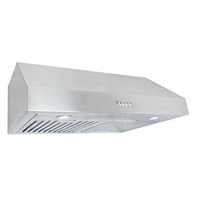 Cosmo Uc30 Stainless Steel Under Cabinet Range Hood  30