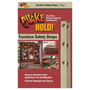 Quake Hold 4163 Beige Original Double Furniture Strap