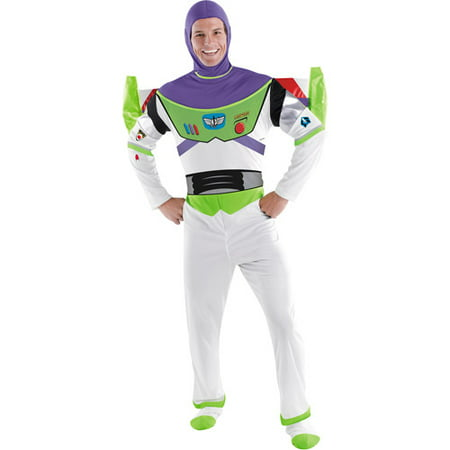 Toy Story Buzz Lightyear Adult Halloween Costume - 2 Page Story Halloween