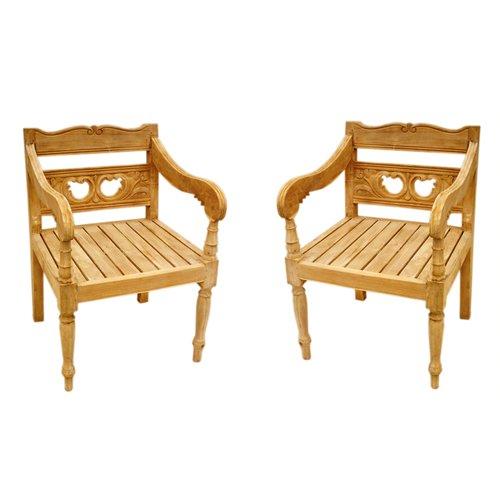one allium way proulx teak patio chair set of 2 walmart com rh walmart com teak patio chair cushions teak patio chair plans