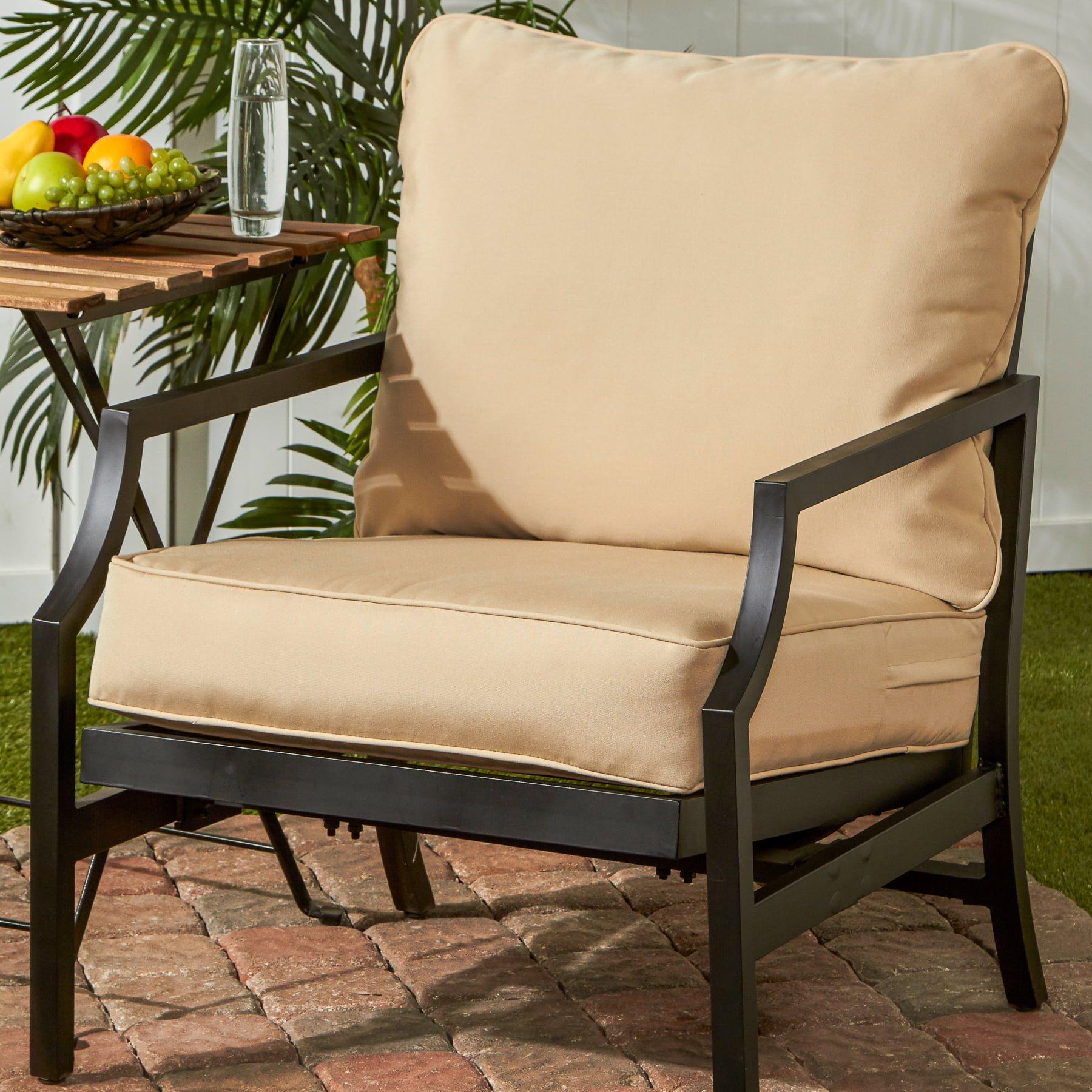 Greendale Home Fashions Outdoor Solid Deep Seat Cushion Set by Greendale Home Fashions